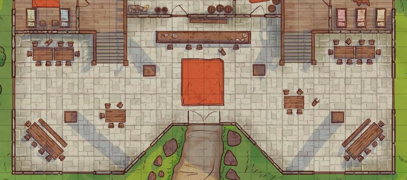 Fat Goblin Inn Battle Map