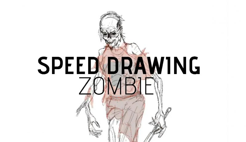 Speed Drawing – Zombie!