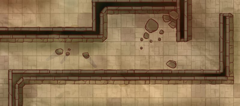 Temple of the Red Dragon Cult Battle Map