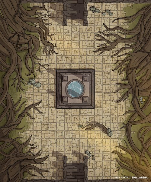 Temple Roots Battle Map